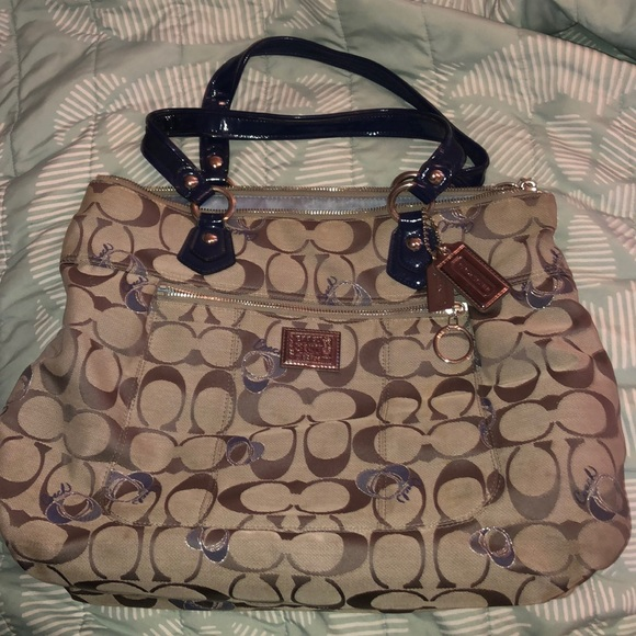 Coach Handbags - Coach Tote (Poppy Collection) AUTHENTIC